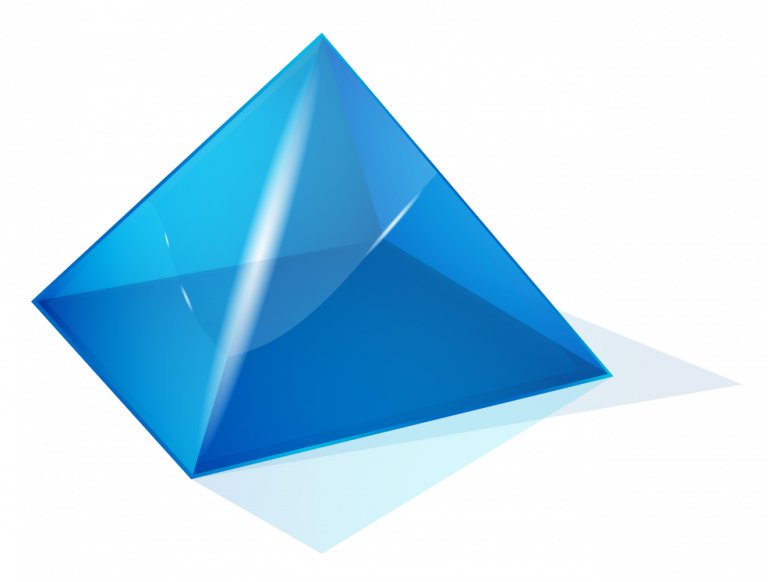 Transparent Triangle