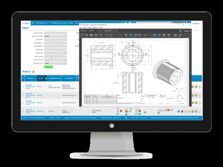 Transfact PPS 检索产品及对应图纸